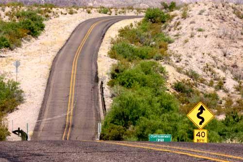asphalt road