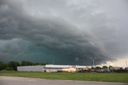 green color mothership storm