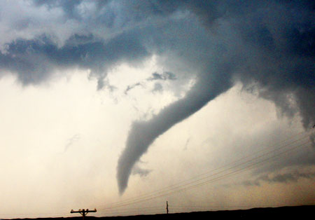 tornado rope out