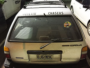 outlaw chaser car