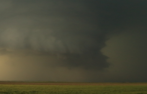 First tornado Leoti, KS