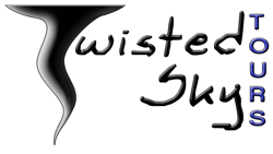 twisted sky tours logo