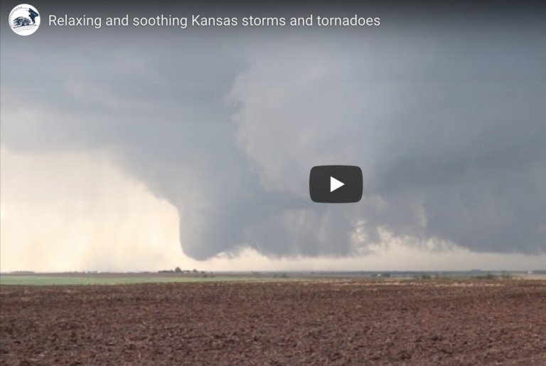 relaxing storms video