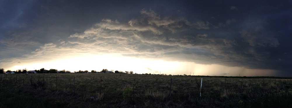panorama photo storm