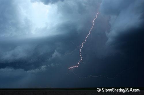 Long lightning bolt