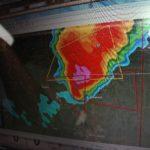 radar echo with hook