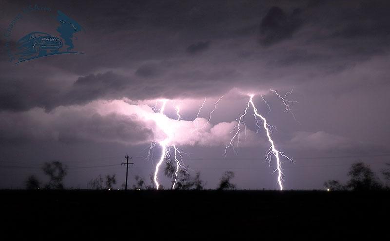 lightning texas