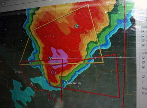 radar image storm