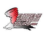 extreme tornado tours square logo