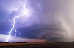 supercell lightning