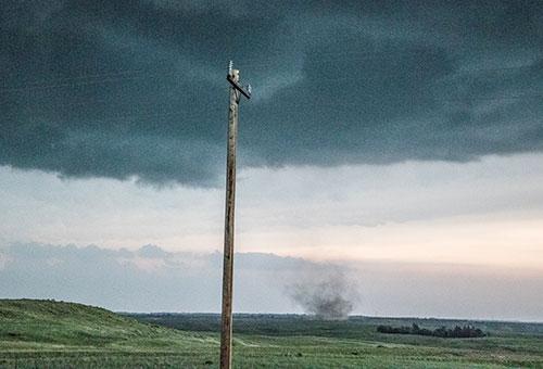 anti-cyclonic tornado