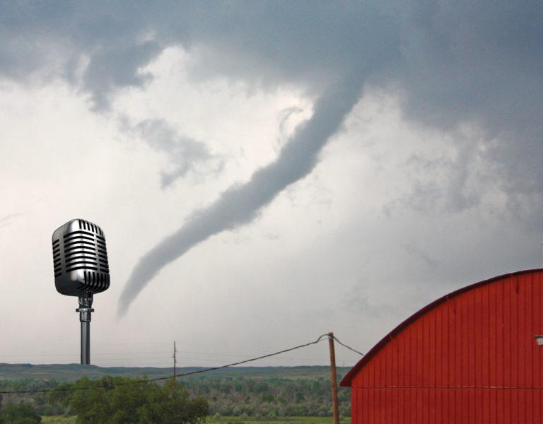 tornado and radio
