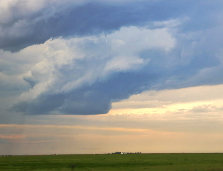 lp supercell with funnel