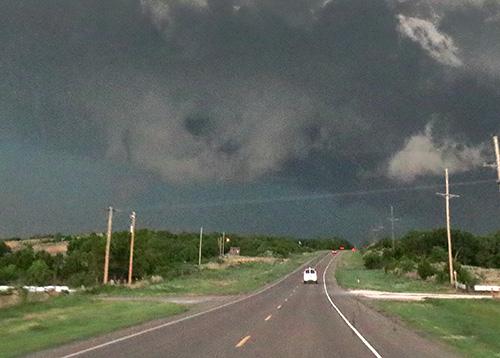 tornado perhaps
