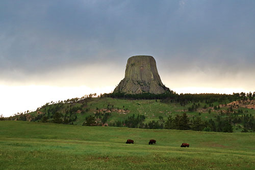 devils tower storm