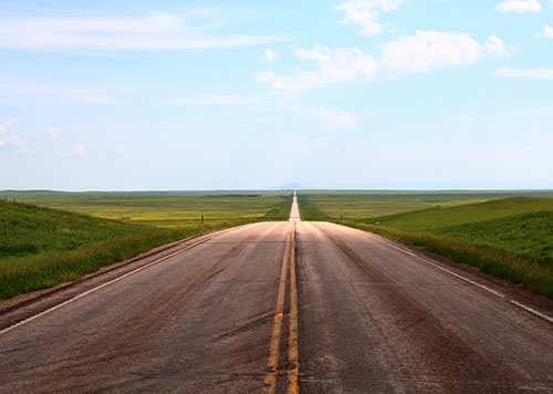 road south dakota