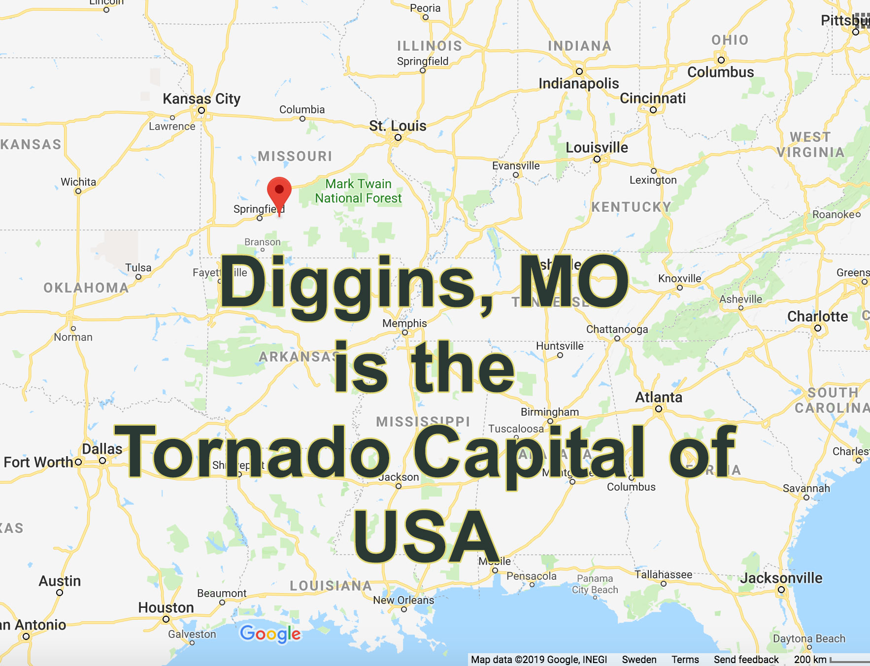diggins missouri tornado capital