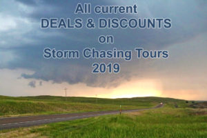deals discounts storm chasing tours