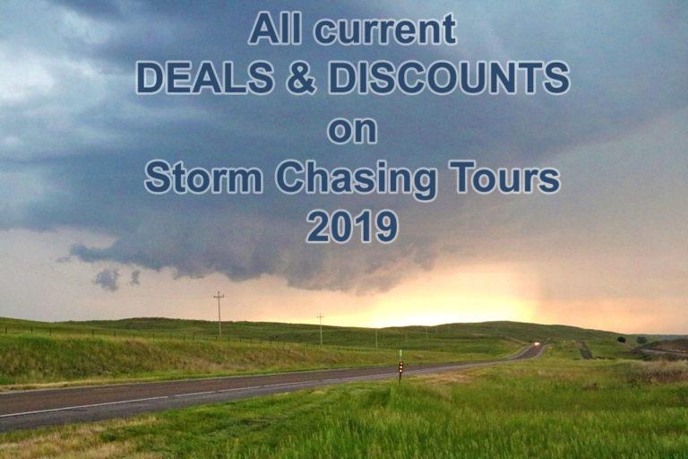 deals discounts storm chasing tours