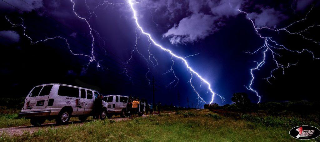 extreme tornado tours lightning